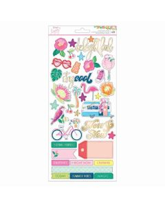 Here and Now Accent & Phrase Stickers - Dear Lizzy*