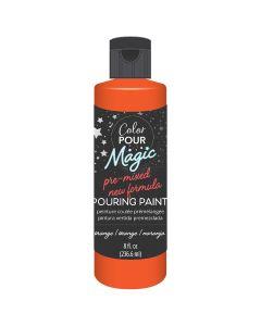 Orange Pre-Mixed Paint - Color Pour Magic - American Crafts*