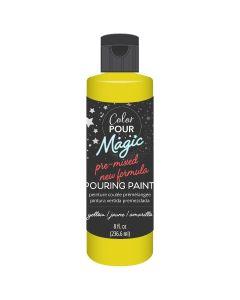 Citrine Pre-Mixed Paint - Color Pour Magic - American Crafts*