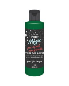 Forest Pre-Mixed Paint - Color Pour Magic - American Crafts*
