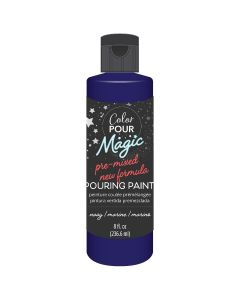 Navy Pre-Mixed Paint - Color Pour Magic - American Crafts*