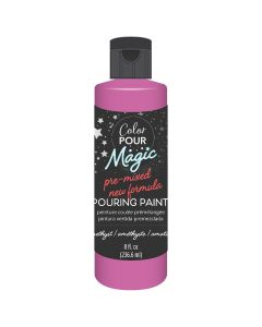 Amethyst Pre-Mixed Paint - Color Pour Magic - American Crafts*