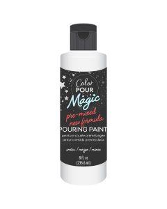 Snow Pre-Mixed Paint - Color Pour Magic - American Crafts*