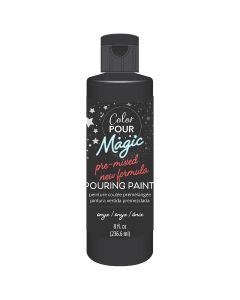 Onyx Pre-Mixed Paint - Color Pour Magic - American Crafts*