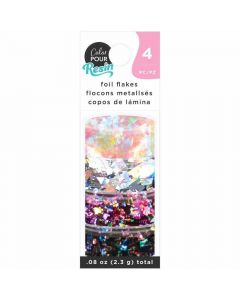 Holographic Foil Flakes - Color Pour Resin - American Crafts*