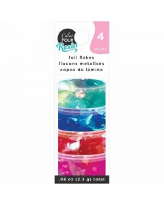 Primary Foil Flakes - Color Pour Resin - American Crafts*