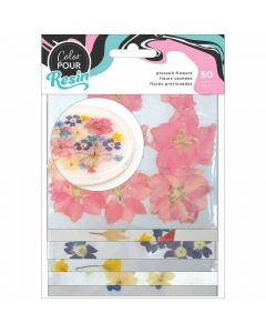 Mix-Ins - Dried Press Flowers - Color Pour Resin - American Crafts*