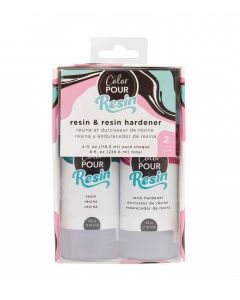 4 FL. OZ Resin and Hardener - Color Pour Resin - American Crafts*