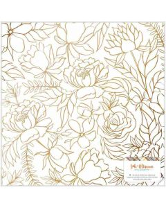 """Late Afternoon 12"""" x 12"""" Vellum Sheet, Copper Foil - American Crafts*"""