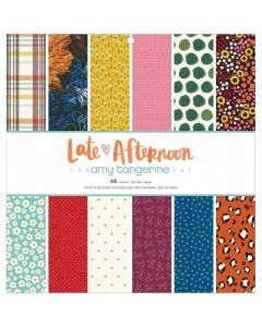 """Late Afternoon 12"""" x 12"""" Paper Pad - American Crafts*"""