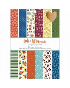 """Late Afternoon 6"""" x 8"""" Paper Pad - American Crafts*"""