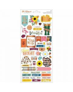 Late Afternoon Stickers, Copper Foil - American Crafts*