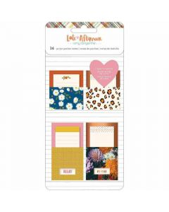 Late Afternoon Adhesive Pocket Notes, Copper Foil - American Crafts*