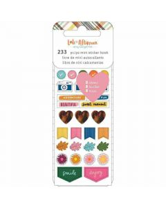 Late Afternoon Mini Sticker Book - American Crafts*