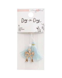 Bow Charm Bookmark - Day-to-Day - Crate Paper*