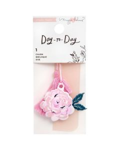 Floral Charm Bookmark - Day-to-Day - Crate Paper*