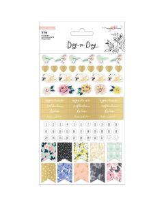 Day-to-Day Phrase Sticker Book - Crate Paper*