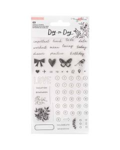Day-to-Day Stamp Set - Crate Paper*