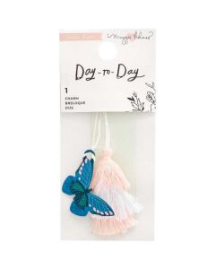 Butterfly Charm Bookmark - Day-to-Day - Crate Paper*