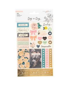 Day-to-Day Icon Sticker Book - Crate Paper*