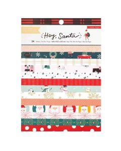 "Hey, Santa 6"" x 8"" Paper Pad - Crate Paper*"
