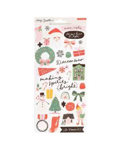 Hey, Santa Stickers - Crate Paper*