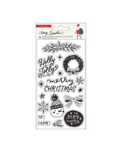 Hey, Santa Acrylic Stamps - Crate Paper*