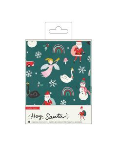 Hey, Santa Boxed Cards - Crate Paper*