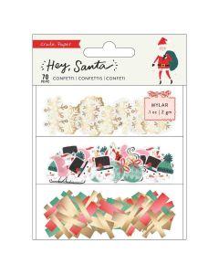 Mylar Confetti Set - Hey, Santa - Crate Paper*