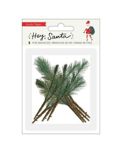 Hey, Santa Pine Branches - Crate Paper*