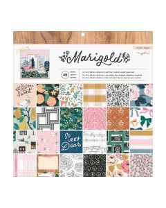 """Marigold 12"""" x 12"""" Paper Pad - Crate Paper*"""