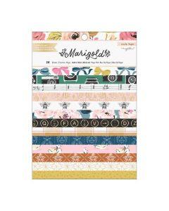 """Marigold 6"""" x 8"""" Paper Pad w/ Foil Accents - Crate Paper*"""