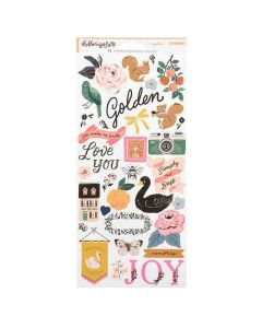 Marigold Stickers - Crate Paper*