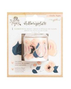 Marigold Flower Petal Washi Tape - Crate Paper*