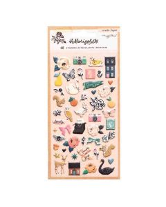 Marigold Puffy Stickers - Crate Paper*