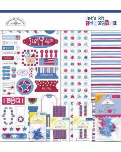 Uncle Sam Let's Kit Together - Land That I Love - Doodlebug