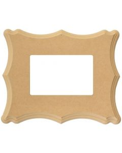 Tahoe (4 x 6) Unfinished Wood Picture Frame - Sweetwater