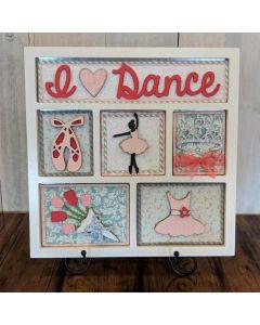 I Love Dance Shadow Box Kit - Foundations Décor