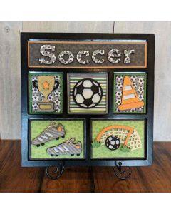 Soccer Shadow Box Kit - Foundations Décor