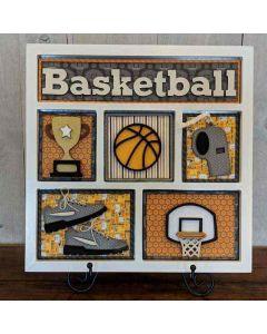 Basketball Shadow Box Kit - Foundations Décor