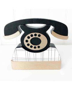 Telephone Wood Blocks - Foundations Decor*
