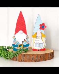 Olive & Odi Gnome Couple - Foundations Decor