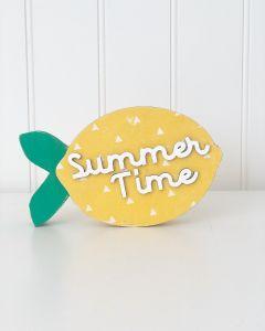 Summer Lemon Block Words - Foundations Decor*