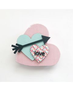 Lovely Hearts Unfinished Wood Craft - Home - Foundations Decor