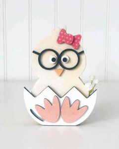 Lil Chick Unfinished Wood Craft - Home - Foundations Decor