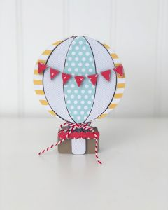Fly High Hot Air Balloon Unfinished Wood Craft - Home - Foundations Decor