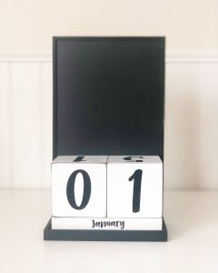 Calendar Base - Block Countdown - Foundations Decor