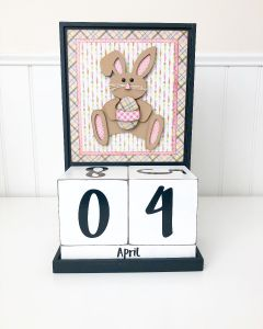 April: Easter - Block Countdown - Foundations Decor