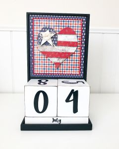 July: Country - Block Countdown - Foundations Decor