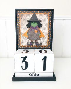 October: Halloween - Block Countdown - Foundations Decor